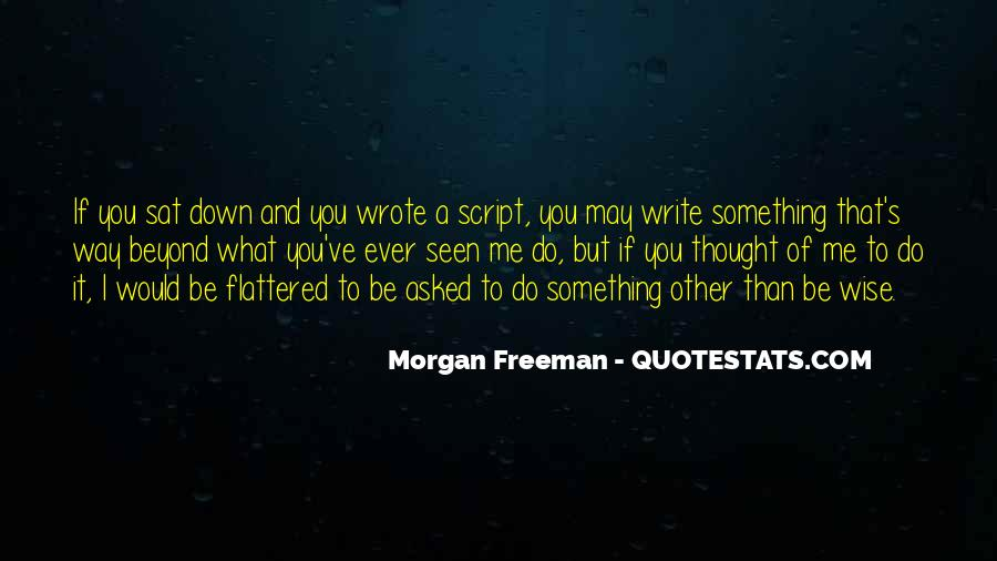Quotes About Script Writing #561424
