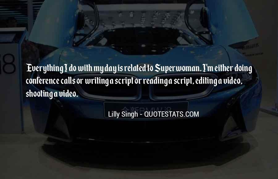 Quotes About Script Writing #579791
