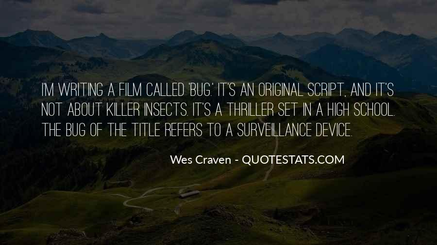 Quotes About Script Writing #584801