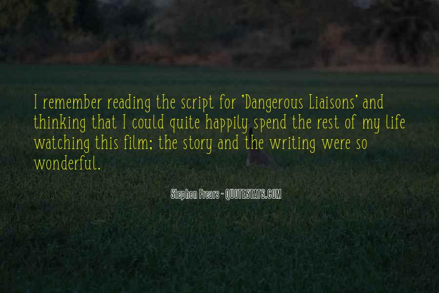 Quotes About Script Writing #725026