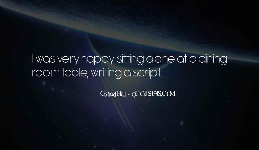 Quotes About Script Writing #757129