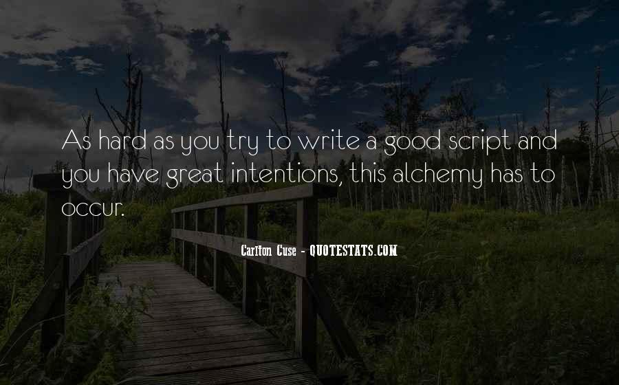 Quotes About Script Writing #775933