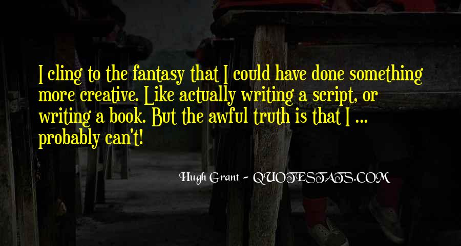 Quotes About Script Writing #861566