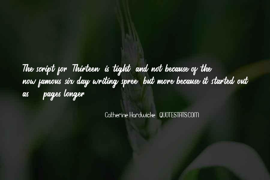 Quotes About Script Writing #865247