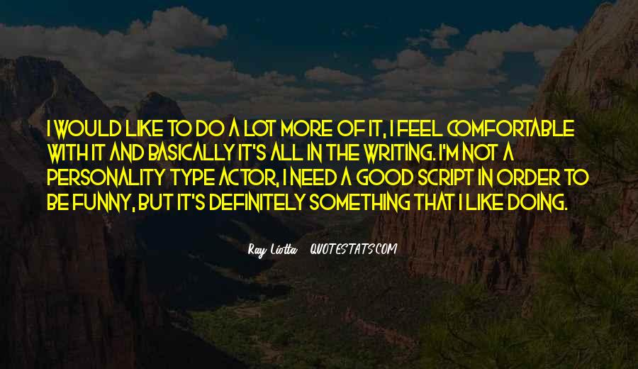 Quotes About Script Writing #972322