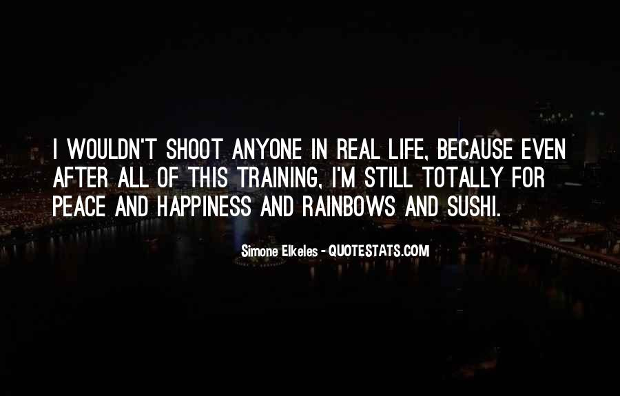 Quotes About Happiness And Rainbows #183057