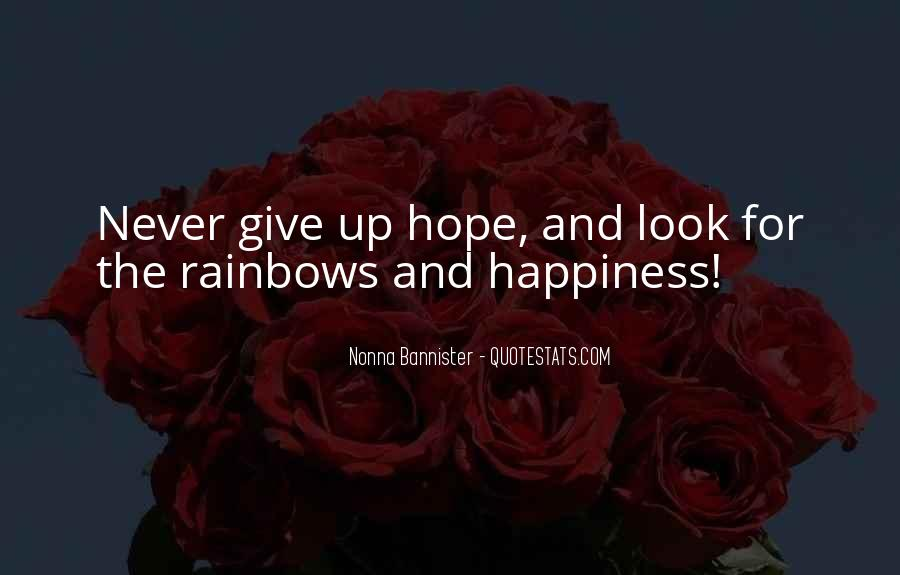 Quotes About Happiness And Rainbows #676969
