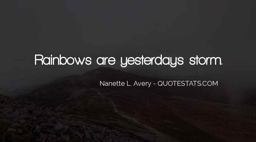 Quotes About Happiness And Rainbows #988145