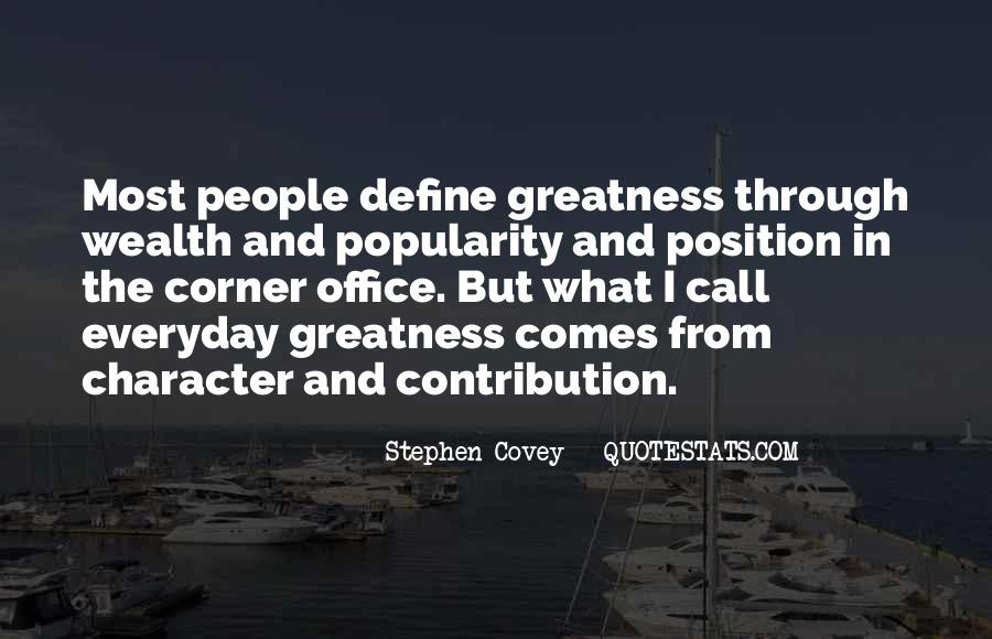 Quotes About The Corner Office #1252998