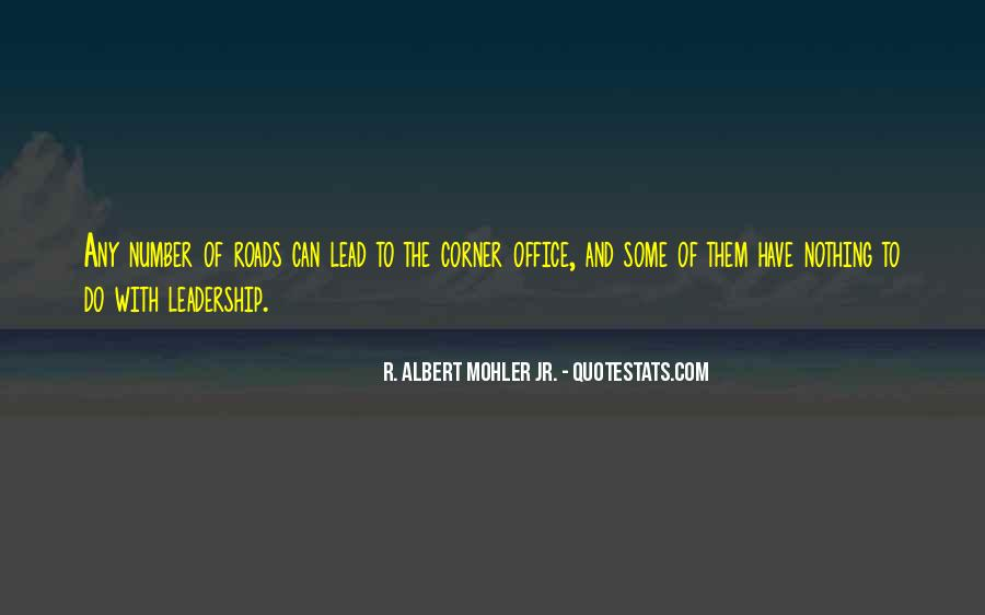 Quotes About The Corner Office #1275597