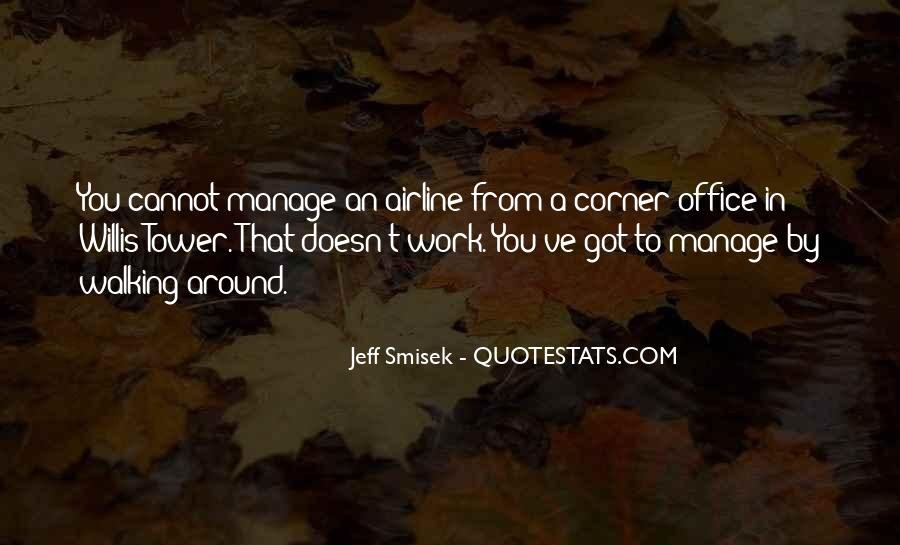 Quotes About The Corner Office #1635432