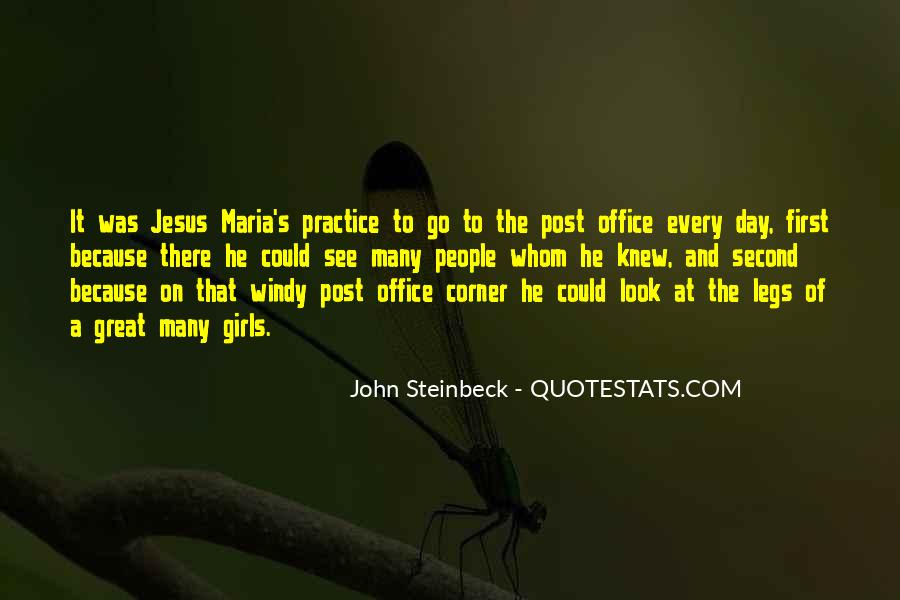 Quotes About The Corner Office #1690889