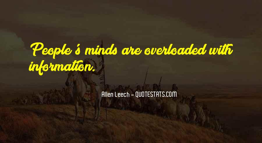 Quotes About Overloaded #510890