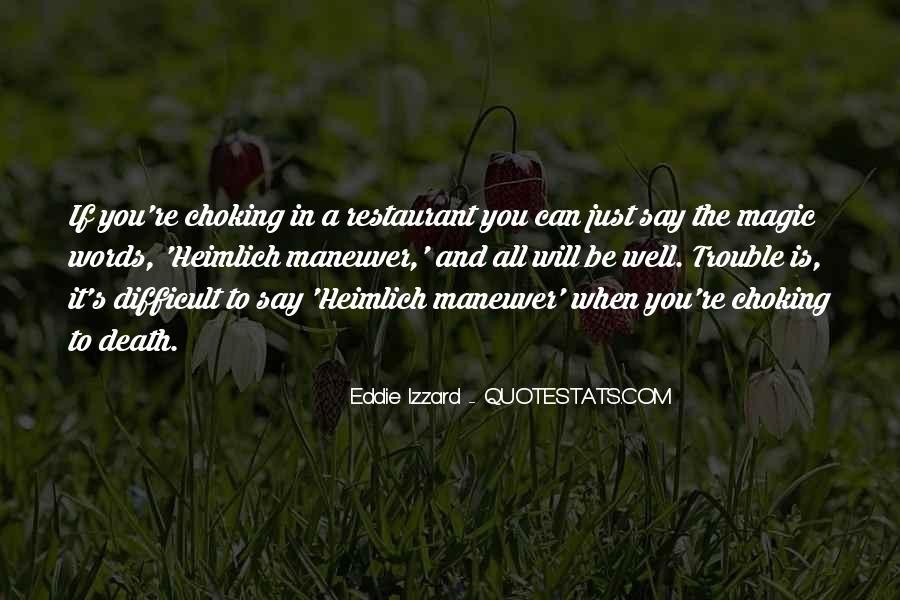 Quotes About Choking Someone #198015