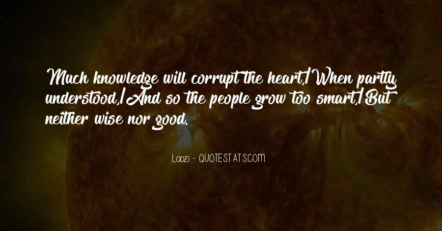 Quotes About Corrupt Heart #1109298