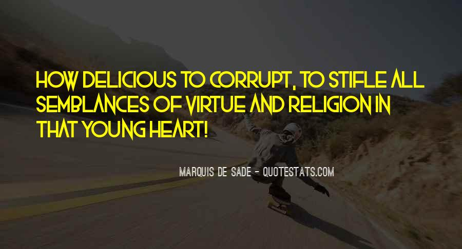 Quotes About Corrupt Heart #1142515