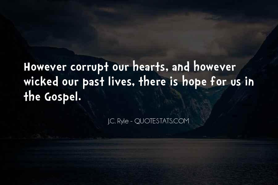 Quotes About Corrupt Heart #1375962