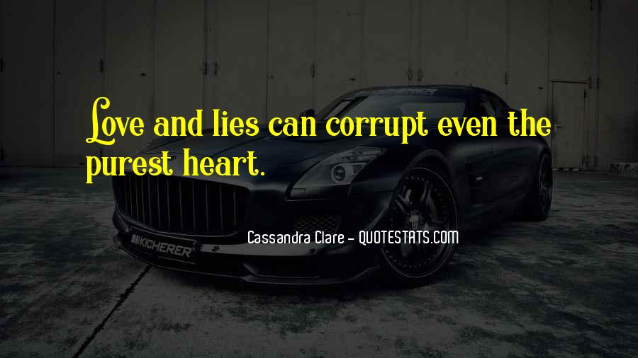 Quotes About Corrupt Heart #1445903