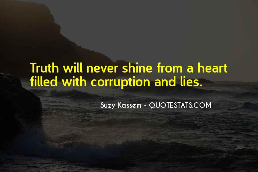 Quotes About Corrupt Heart #1694327
