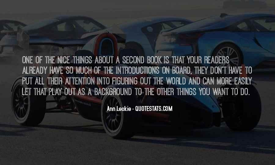 Quotes About Things You Don Want To Do #432363