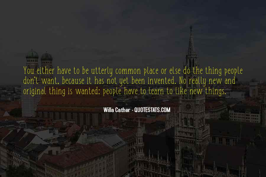 Quotes About Things You Don Want To Do #454320