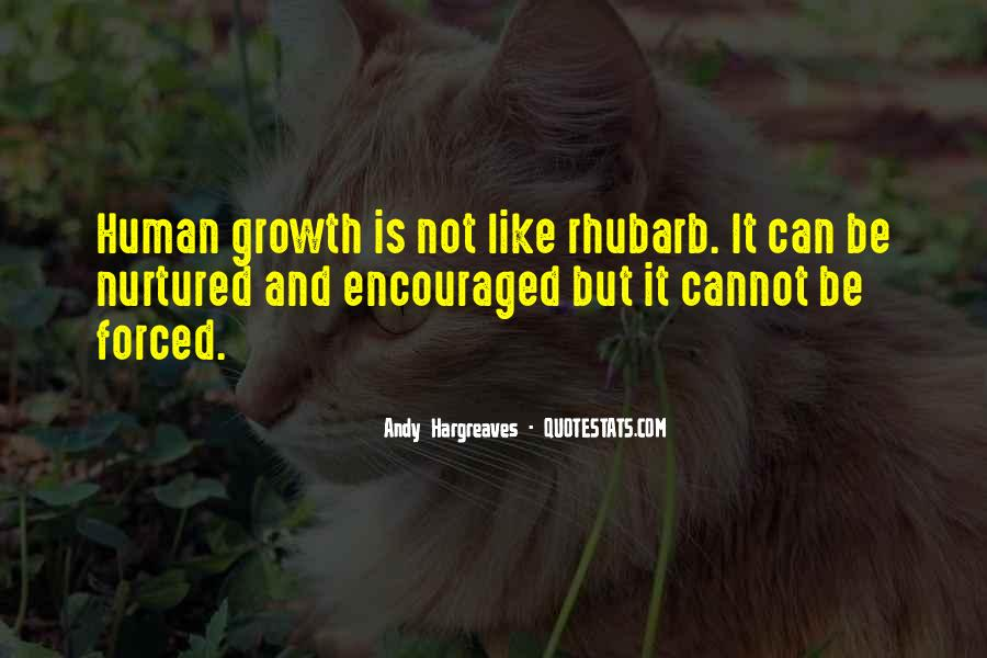 Quotes About Rhubarb #961539