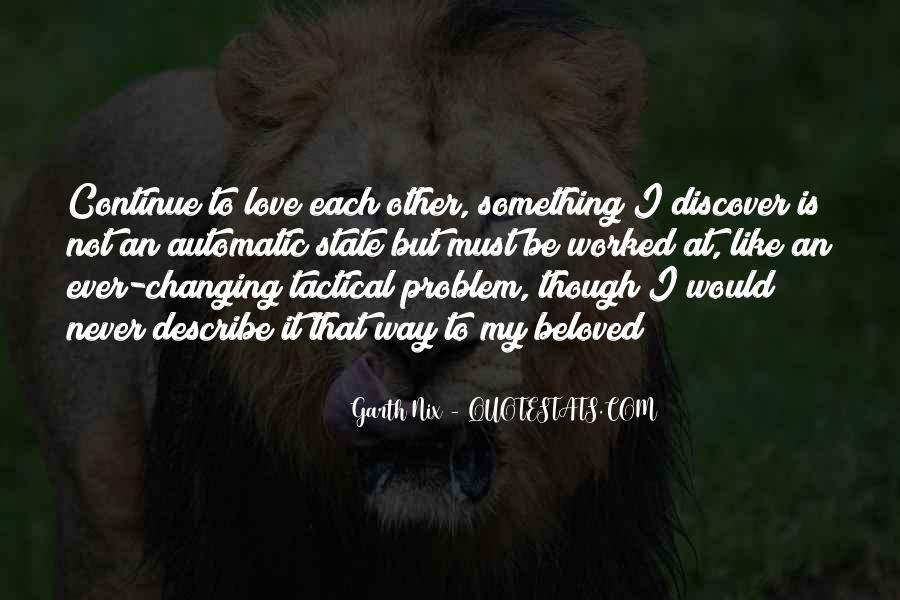 Quotes About Love Never Changing #52678
