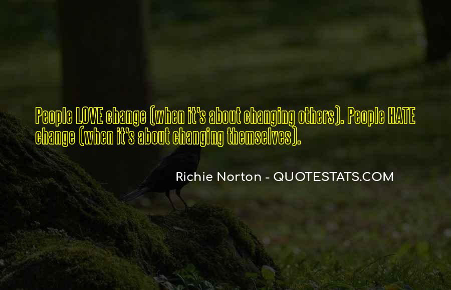 Quotes About Love Never Changing #664221