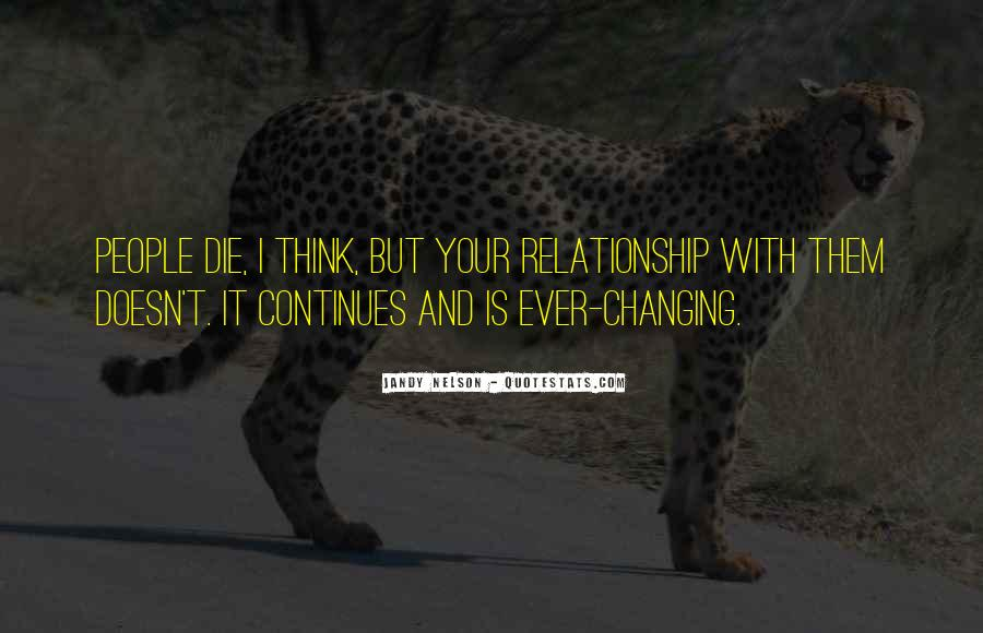 Quotes About Love Never Changing #775981
