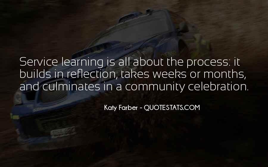 Quotes About Community Service Learning #1522089
