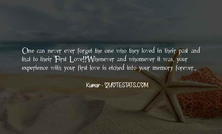 Quotes About Past Memories To Forget #1283286