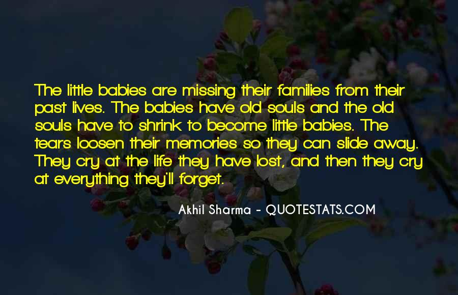 Quotes About Past Memories To Forget #1351681