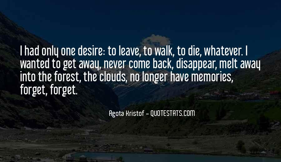 Quotes About Past Memories To Forget #161582