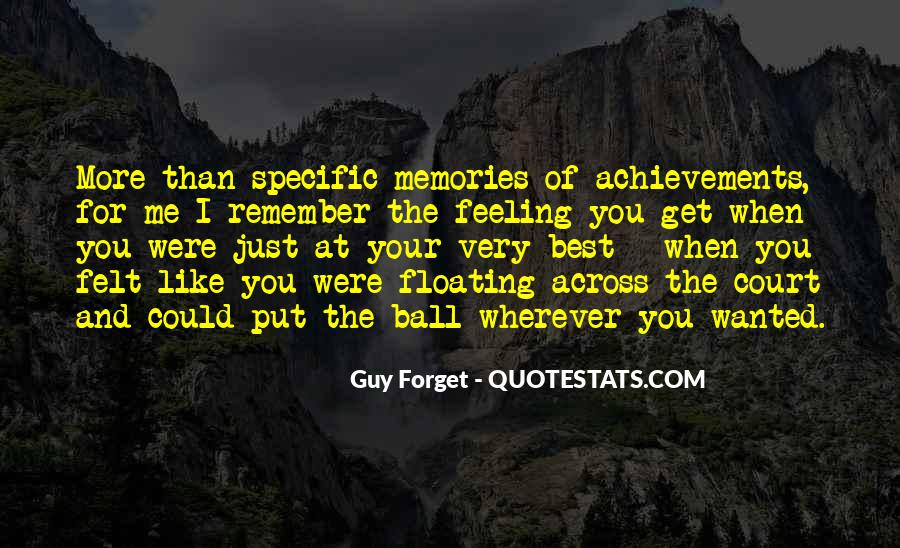 Quotes About Past Memories To Forget #369867