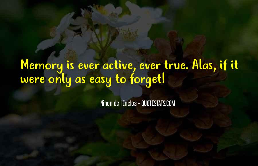 Quotes About Past Memories To Forget #437159