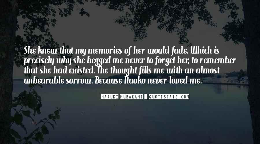 Quotes About Past Memories To Forget #444576