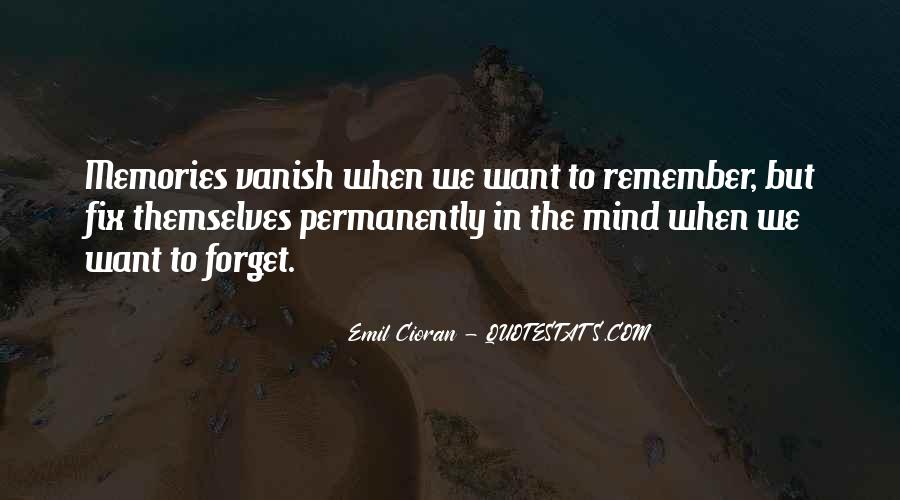 Quotes About Past Memories To Forget #519226