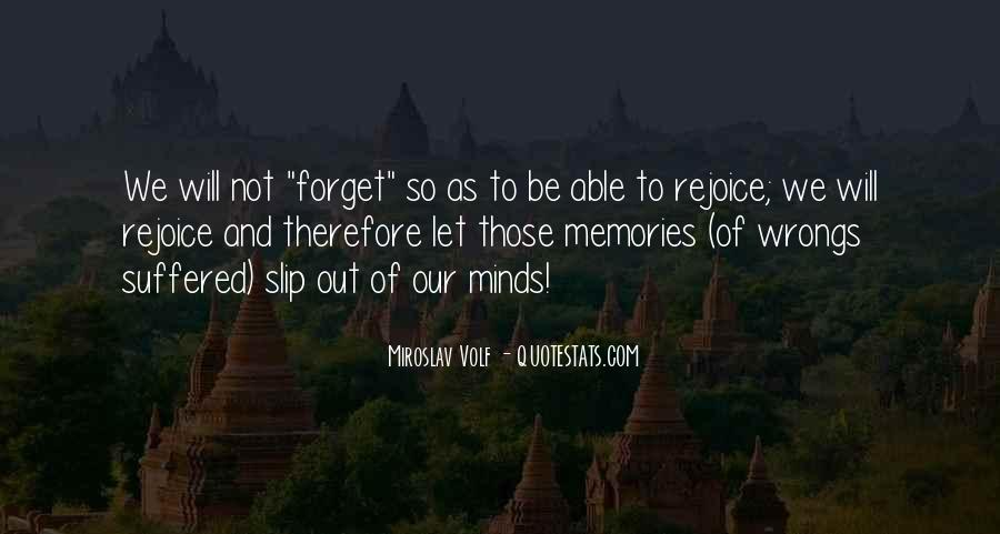 Quotes About Past Memories To Forget #55384