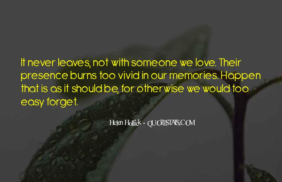 Quotes About Past Memories To Forget #594971
