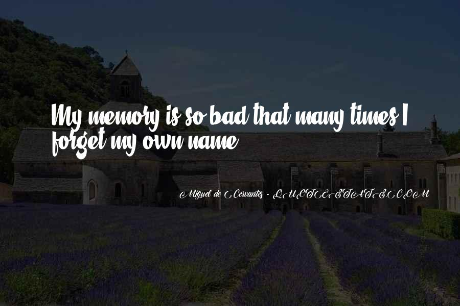 Quotes About Past Memories To Forget #647148