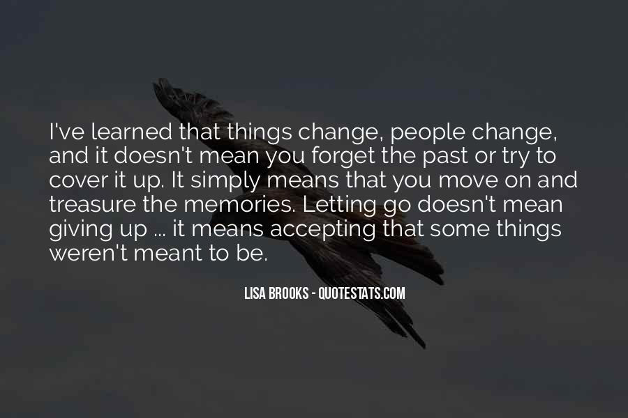 Quotes About Past Memories To Forget #787664