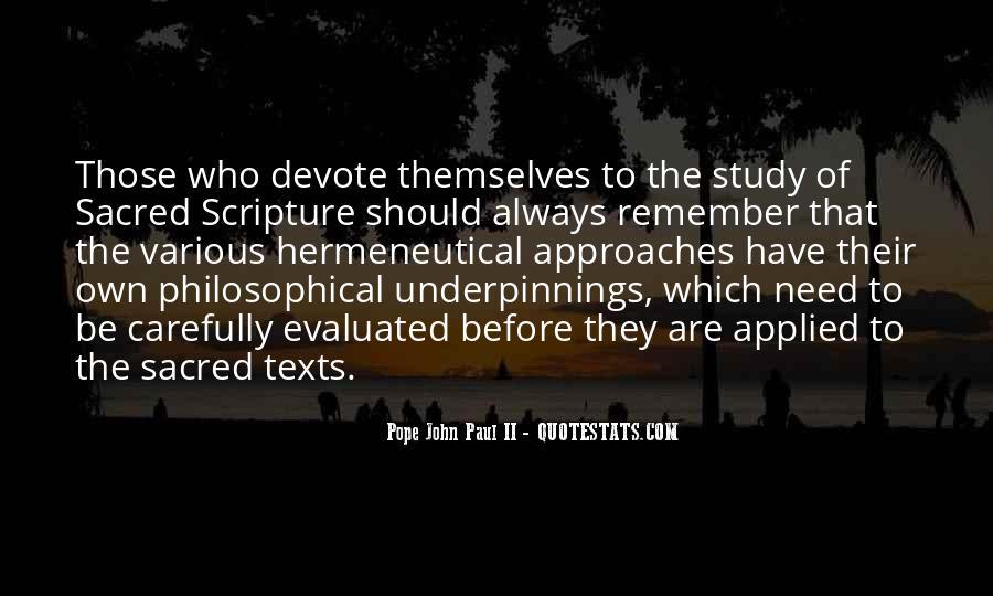 Quotes About Biblical Hermeneutics #149139