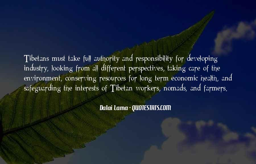 Quotes About Taking Care Of The Environment #37406