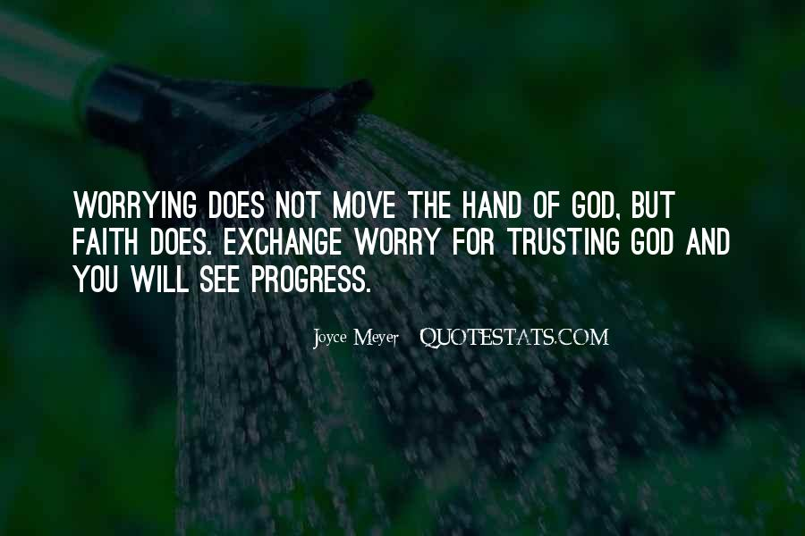 Quotes About Trusting God And Not Worrying #679848