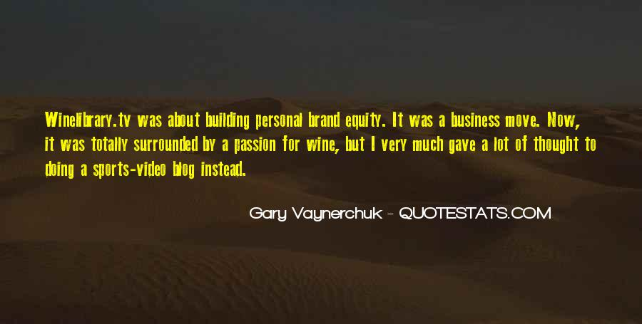 Quotes About Personal Business #238834