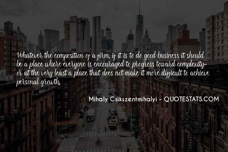 Quotes About Personal Business #258099