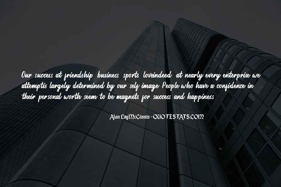 Quotes About Personal Business #259585