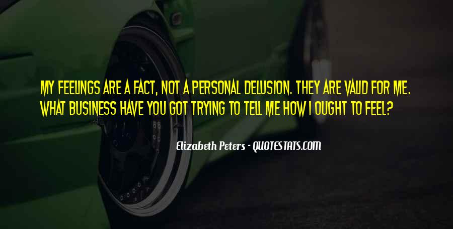 Quotes About Personal Business #376320