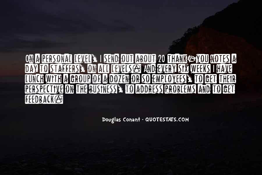 Quotes About Personal Business #390577