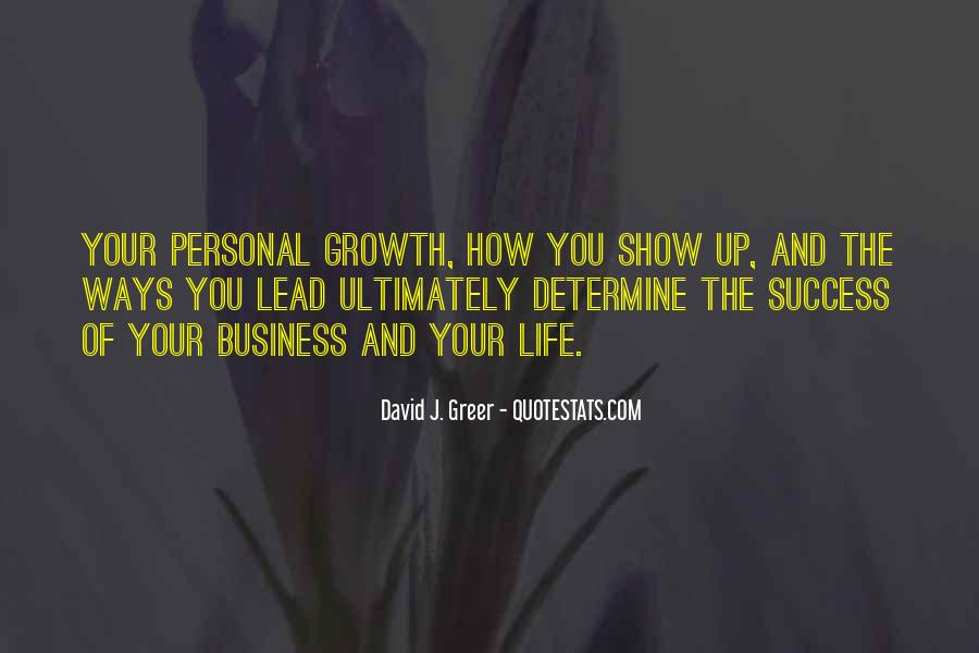 Quotes About Personal Business #487758